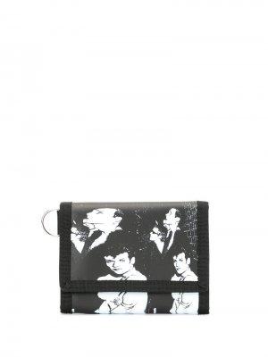 Бумажник с принтом Undercover. Цвет: черный