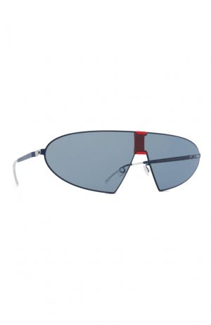 Солнцезащитные очки Mykita. Цвет: синий