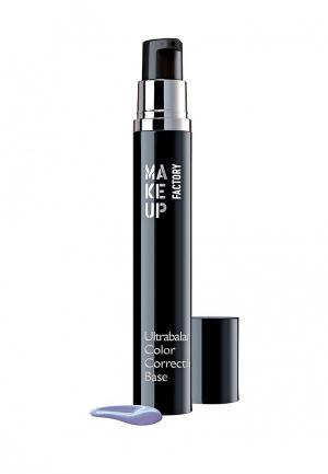 Праймер для лица Make Up Factory Корректирующая цвет Ultrabalance Color Correcting Base, т.07, лаванда. Цвет: прозрачный