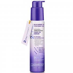 Восстанавливающая несмываемая масляная сыворотка для волос 2chic Repairing Super Potion Hair Oil Serum 81 мл Giovanni