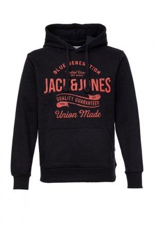 Толстовка Jack & Jones. Цвет: черный