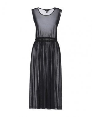 Платье длиной 3/4 AVANT TOI. Цвет: черный