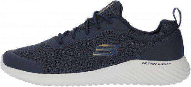 Кроссовки мужские Bounder, размер 39 Skechers. Цвет: синий