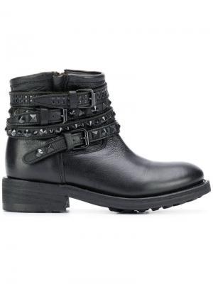 Ботинки Tatum Ash. Цвет: черный