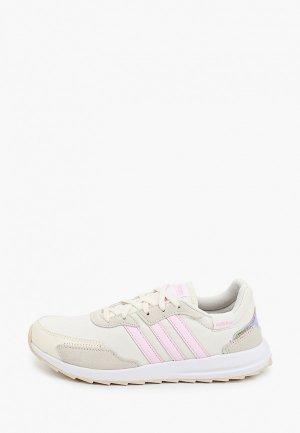 Кроссовки adidas RETRORUN. Цвет: бежевый