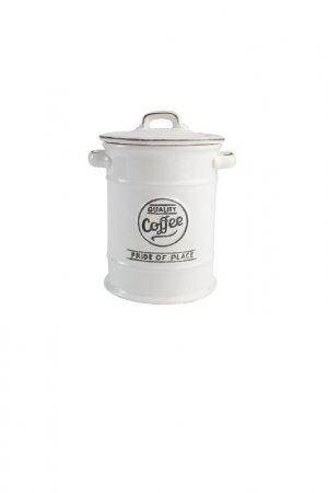 Ёмкость для хранения кофе T&G. Цвет: белый
