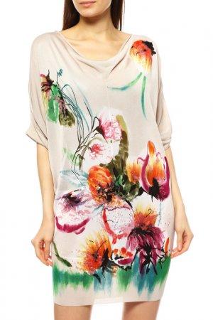 Платье Basler. Цвет: бежевый