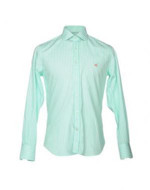 Pубашка BROOKSFIELD. Цвет: светло-зеленый