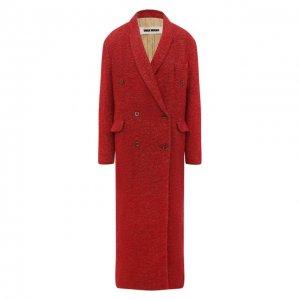 Пальто Uma Wang. Цвет: красный