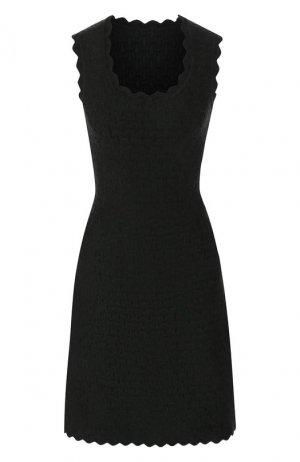 Платье из вискозы Alaia. Цвет: зеленый