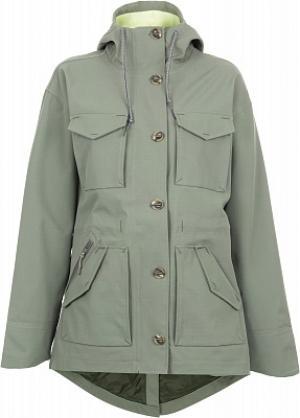 Ветровка женская Overlook, размер 46 Mountain Hardwear. Цвет: зеленый