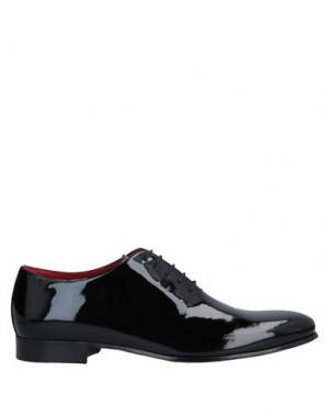 Обувь на шнурках CASTORI. Цвет: черный