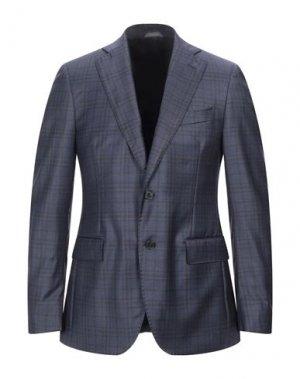 Пиджак TOMBOLINI. Цвет: темно-синий