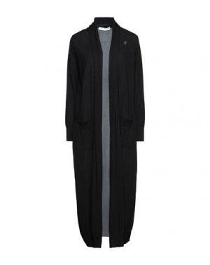 Легкое пальто EMMA & GAIA. Цвет: черный