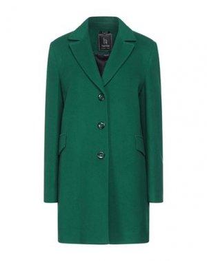 Пальто HANITA. Цвет: зеленый