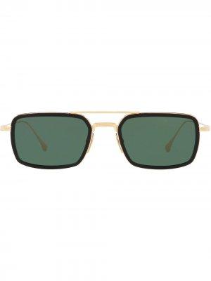 Солнцезащитные очки Flight.008 Dita Eyewear. Цвет: зеленый