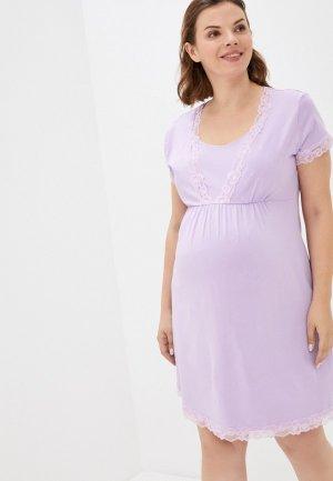 Платье домашнее Fest. Цвет: фиолетовый