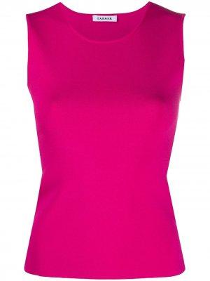 Трикотажный топ P.A.R.O.S.H.. Цвет: розовый