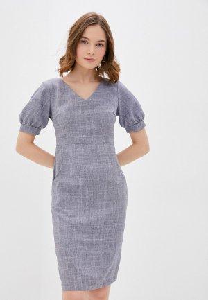 Платье Maurini. Цвет: серый