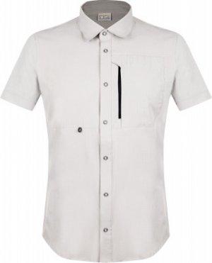Рубашка с коротким рукавом мужская , размер 54 Merrell. Цвет: серый