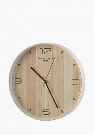 Часы настенные Decogallery. Цвет: бежевый
