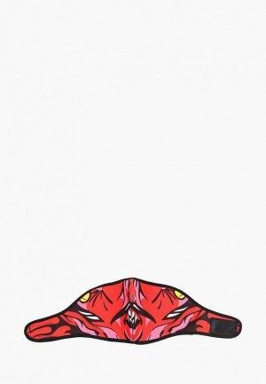 Балаклава Красная Жара -маска. Цвет: красный