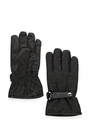 Перчатки FiNN FLARE FI001DMKGS66. Цвет: черный