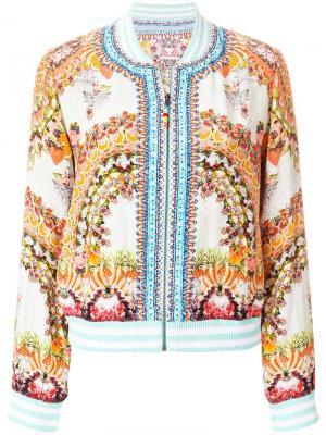 Куртка-бомбер с вышивкой Camilla