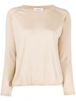Пуловер с рукавами реглан Snobby Sheep. Цвет: нейтральные цвета