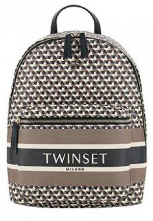 Рюкзак TWINSET. Цвет: коричневый