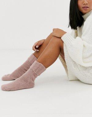 Носки -Розовый ASOS DESIGN