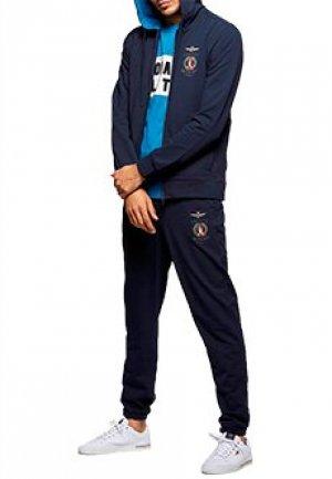 Спортивный костюм AERONAUTICA MILITARE. Цвет: синий