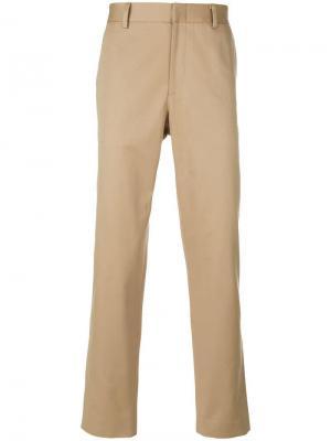 Классические брюки чинос Gucci. Цвет: бежевый