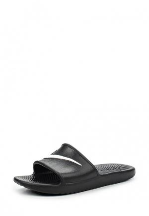 Сланцы Nike Mens Kawa Shower Slide. Цвет: черный