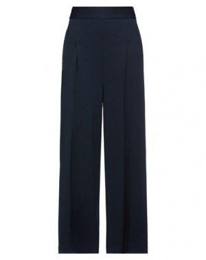 Повседневные брюки ATINSIGHT by ANDREA TURCHI. Цвет: темно-синий