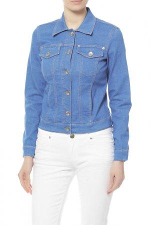 Куртка джинсовая Love Moschino. Цвет: мультицвет