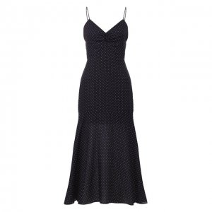 Платье Alexis. Цвет: синий