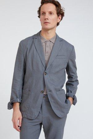 Пиджак мужской Finn-Flare. Цвет: серый