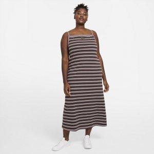 Платье Sportswear Femme (большие размеры) - Коричневый Nike
