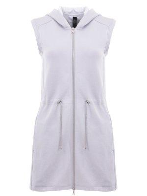Спортивное платье SILOU. Цвет: серый