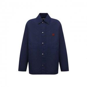 Джинсовая куртка Acne Studios. Цвет: синий
