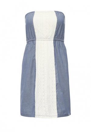 Платье Animal KIRA. Цвет: голубой