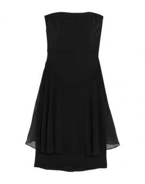 Короткое платье BADGLEY MISCHKA. Цвет: черный