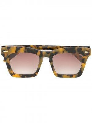 Солнцезащитные очки Banks Karen Walker. Цвет: коричневый