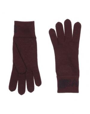 Перчатки JUST CAVALLI. Цвет: баклажанный