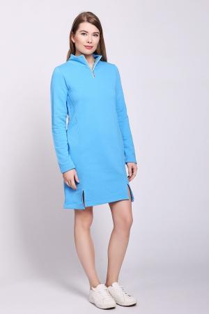 Платье D.S.. Цвет: голубой