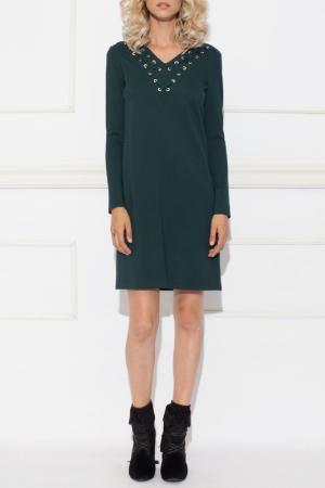 Платье Nissa. Цвет: green