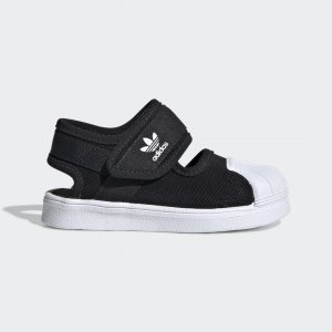 Сандалии Superstar 360 Originals adidas. Цвет: черный