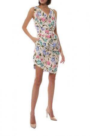 Платье Vivienne Westwood Red Label. Цвет: слоновая кость, розовый, темно
