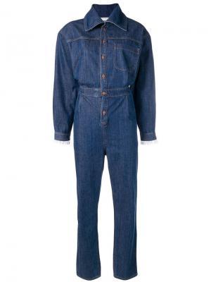 Классическая джинсовая куртка Philosophy Di Lorenzo Serafini. Цвет: синий